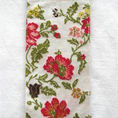 Chaussettes Bonne Maison / Bonne Maison socks - Brocart Naturel détail