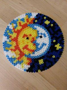zon en maan - strijkparels