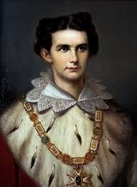Ludwig II was 18 when he ascended the throne and was an admirer of Richard Wagner. He died at 40.