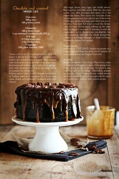 Call me cupcake: Chocolate caramel cheesecake