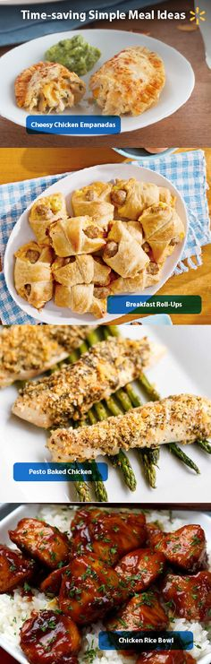Time is precious! These simple meal ideas will have everybody asking for more without cutting into your day. All you need are a few ingredients, and the quick prep will free up some family time!   Get these and more time-saving recipes from Simple Meals at Walmart now.