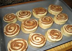 Sourdough Cut Cinnamon Rolls   - ok. I really love this website. My favorite food recipes BUT with homemade sourdough!