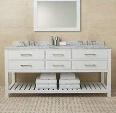 1000 Images About Restoration Hardware Style Bathroom Vanities On Pinterest Bathroom Vanities