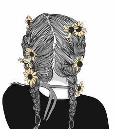 Desenho de meninas tumblrs ¡•♡•¡