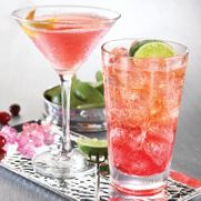 """Love this drink!  """"Diddy Up""""  Ciroc Vodka is mixed with ruby red nectar and Red Bull and topped with a fresh squeeze of lime.    Sold at T.G.I.Friday's   #vodka #cocktail"""