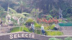Ini Taman Rekreasi SELECTA Batu, Malang- jawa timur