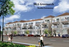 SKA Greenarch Noida Extension offers 2 bedrooms and 3 bedrooms flats at lowest price.