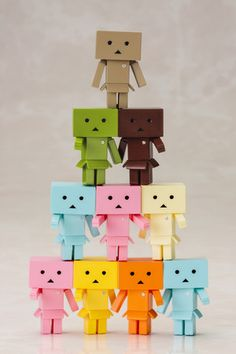 Danboard-nano Flavors One Coin Figure Box (Set of 10) on Crunchyroll