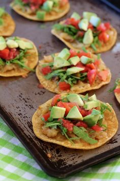Caramelized Onion and Arugula Tostadas - Letty's Kitchen