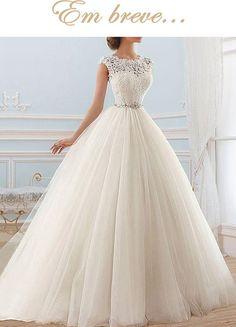 Vestido de noiva Princesa Fernanda - LiFe Noiva