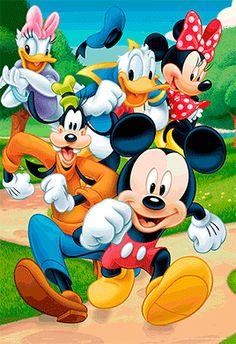 Myszka Miki i Przyjaciele - plakat 3D