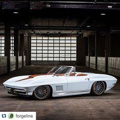 "Mast Motorsports on Instagram: ""#Repost @forgeline ・・・ The 2015 Street Machine of the Year winner, Sonny & Debbie Freeman\'s 700HP #mastmotorsports 427-powered \'67…"""