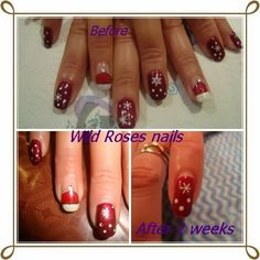 Wild Rose's Nails: Before And After