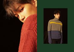 "EXO Teaser Image for winter album ""For Life"" - Kai and Lay"