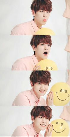 baekhyun ♥ My bias but is it bad that i actually thought this was taehyung cuz of the last photo??? XD