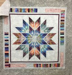 Prismatic Star, Quiltworx.com, Made by CI Jenny Clark