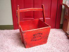 Antique Wood Grain Bucket Yoke Handle Watson Grain Company