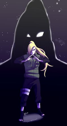 I am seriously obsessed.  Ino Yamanaka