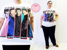 CLEARANCE  Plus Size  Vintage 'New Kids on the by TheCurvyElle, $10.00