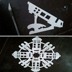 How to Doctor Who Snowflakes