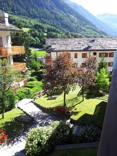 This is the view you can might happen to have if you choose to buy a property in #ValledAosta