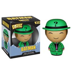 This is a Batman Dorbz The Riddler Figure. It's produced by Vinyl Sugar and Funko. Dorbz are adorable little figures that stand roughly 3 inches tall. It's neat to see that The Riddler was included in