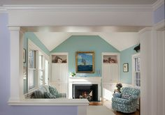 color combo - Master Suite Remodel - traditional - bedroom - boston - Mahoney Architects