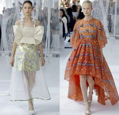 DELPOZO 2017 Spring Summer Womens Runway Catwalk Looks - New York Fashion Week - Luminosity Fairy Tale Fantasy Organic Shape Plaid Tartan Wide Leg Trousers Palazzo Pants Culottes Outerwear Trench Coat Blouse Winged Bulb Sleeves Bell Handkerchief Hem Bow Ribbon Knot Folds Orchid Earrings Embossed Peplum Fringes Ruffles Petals Blossoming Flower Floral Knit Brocade Cloqué Tiered Silk Sheer Chiffon Tulle Bedazzled Jewels Dress Gown Eveningwear Mesh Stripes Crop Top Midriff Shawl Miniskirt Fan…