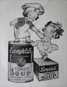 Campbell's Soup ad    Pictorial Review - November 1916