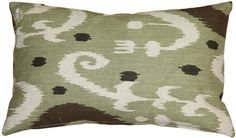 Indah, meaning beautiful in Indonesian, is the only way to describe this green rectangular ikat throw pillow. A modern take on a classic ikat design. Pillow Inserts, Pillow Covers, Green Throw Pillows, Pillow Sale, Ikat, Decorative Pillows, Reusable Tote Bags, Classic, Pattern