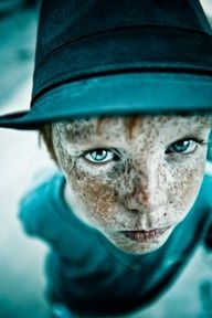 Cute! Freckles add so much character, I swear red head kids are the cutest! Tracie Taylor #portrait #photography