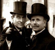 Jeremy Brett and Edward Hardwicke - Sherlock Holmes and Doctor Watson