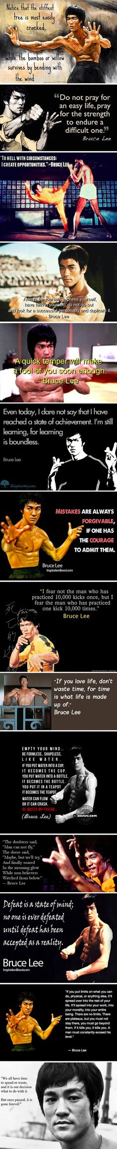 Just a little Bruce Lee...