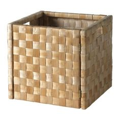 NÄSUM Basket IKEA - goes with Expedit bookcase- not sure about hinges. Storage in front BR Diy Storage Bench, Ikea Storage, Small Storage, Storage Boxes, Storage Baskets, Expedit Bookcase, Ikea Basket, Decoracion Low Cost, Contemporary Baskets
