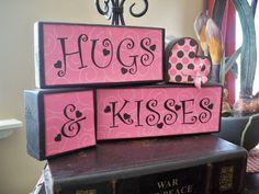 You Craft Me Up!: Valentines - ModPodge Wooden Blocks DIY