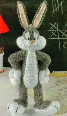 AMIGURUMIES: Bugs Bunny