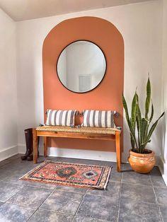 Diy Bedroom Decor, Diy Home Decor, Entry Way Design, Accent Wall Bedroom, Interior Decorating, Interior Design, Boho Room, Home And Living, Living Room