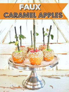 Sugar Pie Farmhouse  » Blog Archive  Faux Caramel Apples Tutorial & My Fall e-book, Pumpkin Pickin' & Hayrides! | Sugar Pie Farmhouse Sugar Pie, Candy Apples, Happy Fall Y'all, Fall Recipes, I Fall, Fall Diy, Caramel Apples, Fall Harvest, Autumn Home