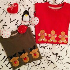 Nuevo proyecto de la Navidad!  #diy #renne #ominipandizenzero #tshirt #tocchidigrace