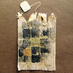 363 days of tea. Day 156. #recycled #teabag #art