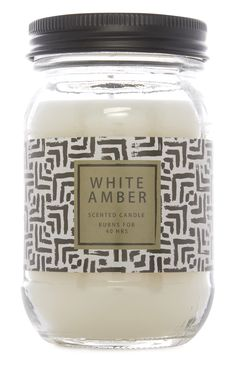 White Amber candle from Primark!