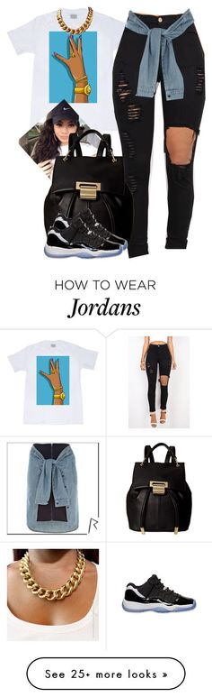 """""""Sylvie Finesse"""" by trillest-fashion on Polyvore featuring River Island, Ivanka Trump and Retrò"""