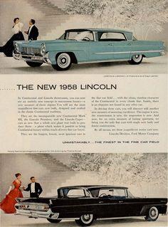 1958 Lincoln Brochure