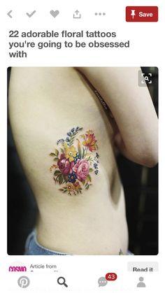 foot tattoos for women flowers Tatoo Flowers, Wildflowers Tattoo, Tattoos For Women Flowers, Foot Tattoos For Women, Flower Tattoos, Tatoo Henna, Tattoo Motive, Cover Tattoo, Tattoo You