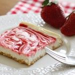 Strawberry Swirl Cheesecake...weight watcher 4pp