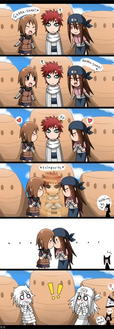 LOL! :D in the corner kankuro and temari's fan hah lol u in for it this time