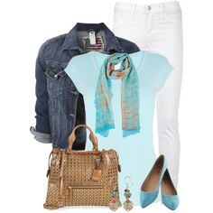 Denim Jacket 2, created by daiscat on Polyvore