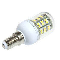 220V 3W E14 48 3528 SMD LED Corn Light Bulb Lamp Warm White