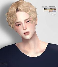 Sims 4 Hair Male, Sims 4 Male Clothes, Sims Hair, Sims 4 Clothing, Male Hair, The Sims 4 Pc, Sims 4 Cas, My Sims, Sims Cc