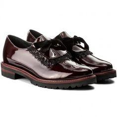 Κλειστά παπούτσια EVA MINGE - Cande 2B 17BD1372191EF Μπορντό